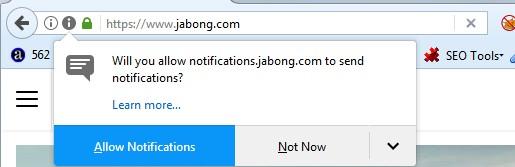 Handle Browser Notification using Selenium - GlobalSQA